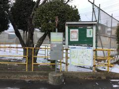 「今泉神社前」バス停留所
