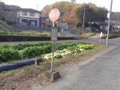 「下妙見谷」バス停留所