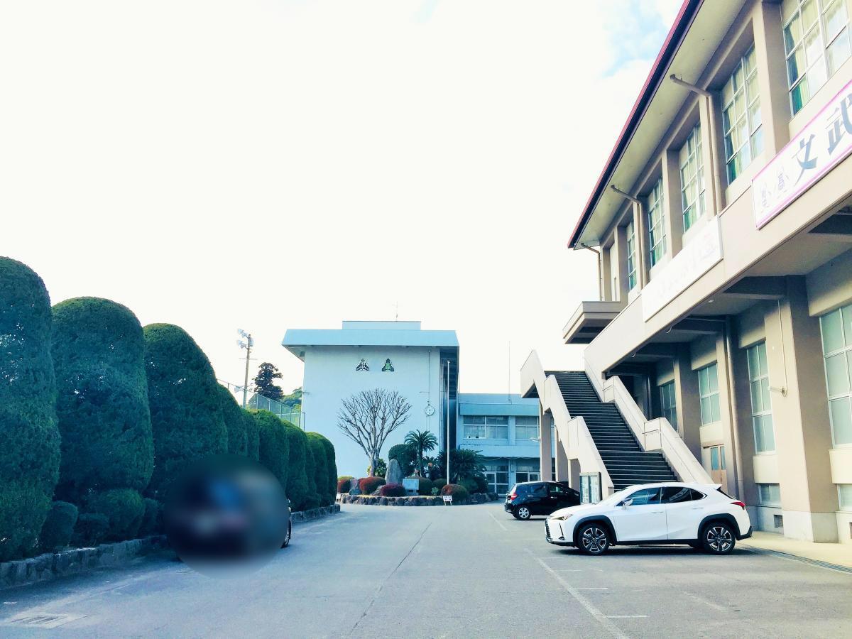 諫早高校の雰囲気です。