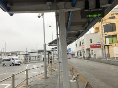 「拝島駅」バス停留所