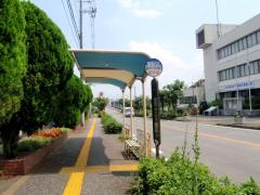 「島本町役場前」バス停留所