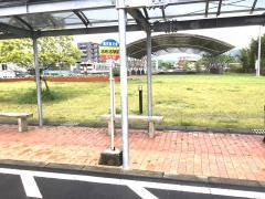 「志布志駅前」バス停留所