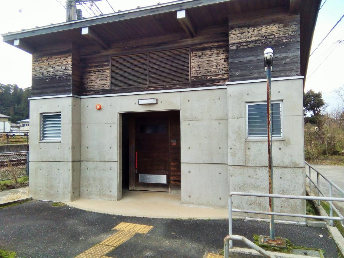 松江イングリッシュガーデン前駅トイレ