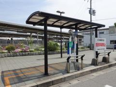 「宝殿駅(南口)」バス停留所