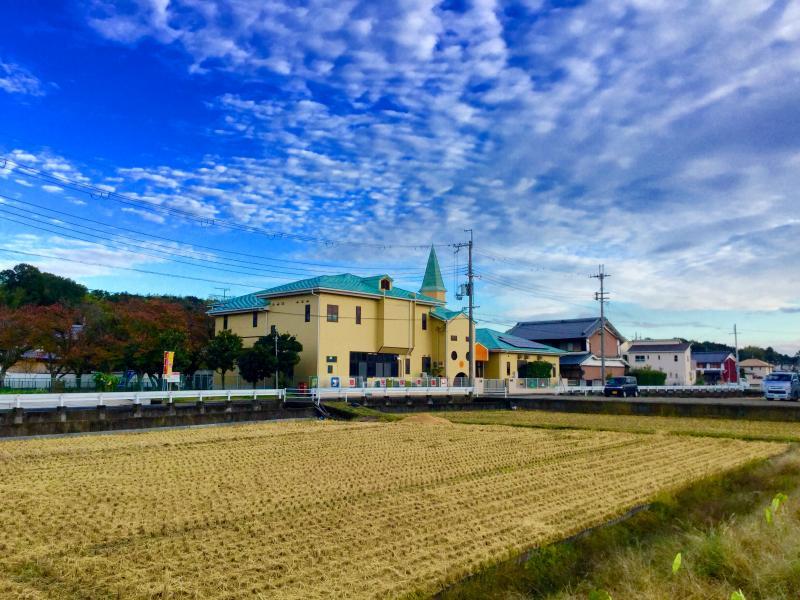 慈光保育園 北西から遠景撮影
