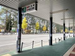 「地下鉄真駒内駅」バス停留所