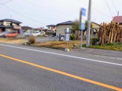 「松橋支援学校」バス停留所