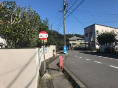 「宝珠ハイツ」バス停留所