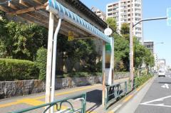「石原一丁目」バス停留所