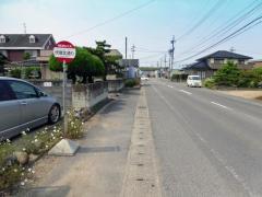 「伏屋北通り」バス停留所