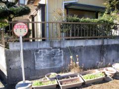 「埴生沢橋」バス停留所