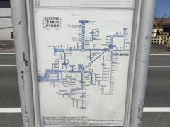 「森山」バス停留所