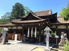 兵主大社(近江の苔寺)