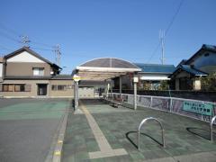 「明智駅」バス停留所
