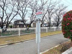 「新道橋」バス停留所