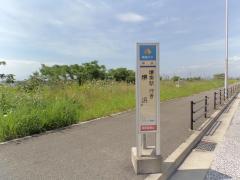 「堺浜」バス停留所