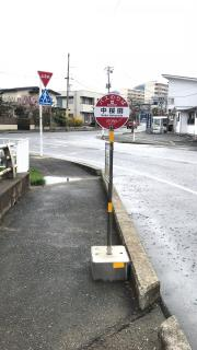 「中桜田」バス停留所