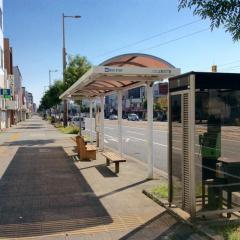 「上町五丁目」バス停留所