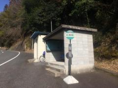 「めい想の森口」バス停留所