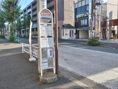 「しらとり台」バス停留所