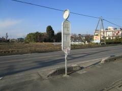 「植田谷」バス停留所