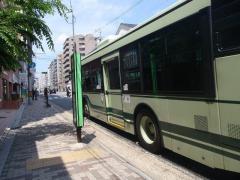 「今出川大宮」バス停留所