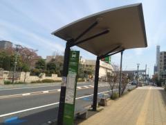 「与野霧敷川」バス停留所