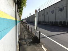 「昭和電工前」バス停留所
