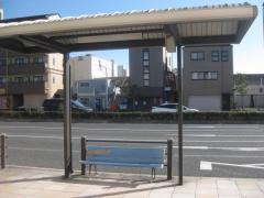「東島屋」バス停留所