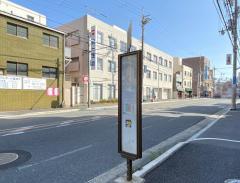 「長堂」バス停留所