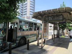 「朝霞台駅」バス停留所