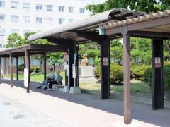 「公立病院」バス停留所