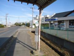 「川戸沼」バス停留所