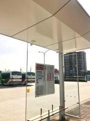 「引山」バス停留所