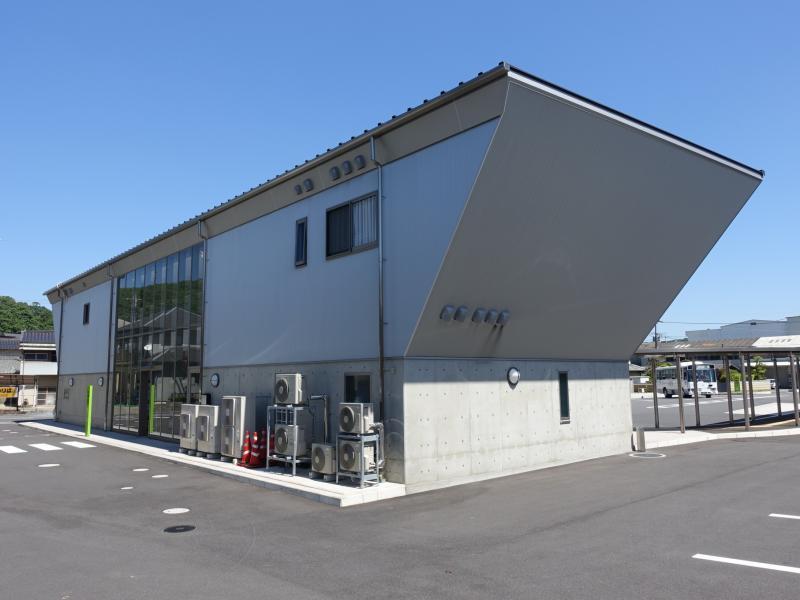 「井笠バスセンター」バス停留所