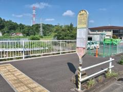 「木曽都営入口」バス停留所