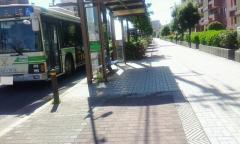 「鶴町一丁目」バス停留所