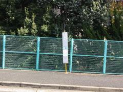 「安古市高校北口」バス停留所