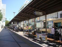 「千里中央」バス停留所