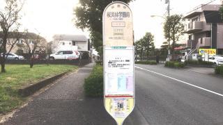 「桜美林学園前」バス停留所
