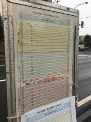 「青葉町8丁目」バス停留所