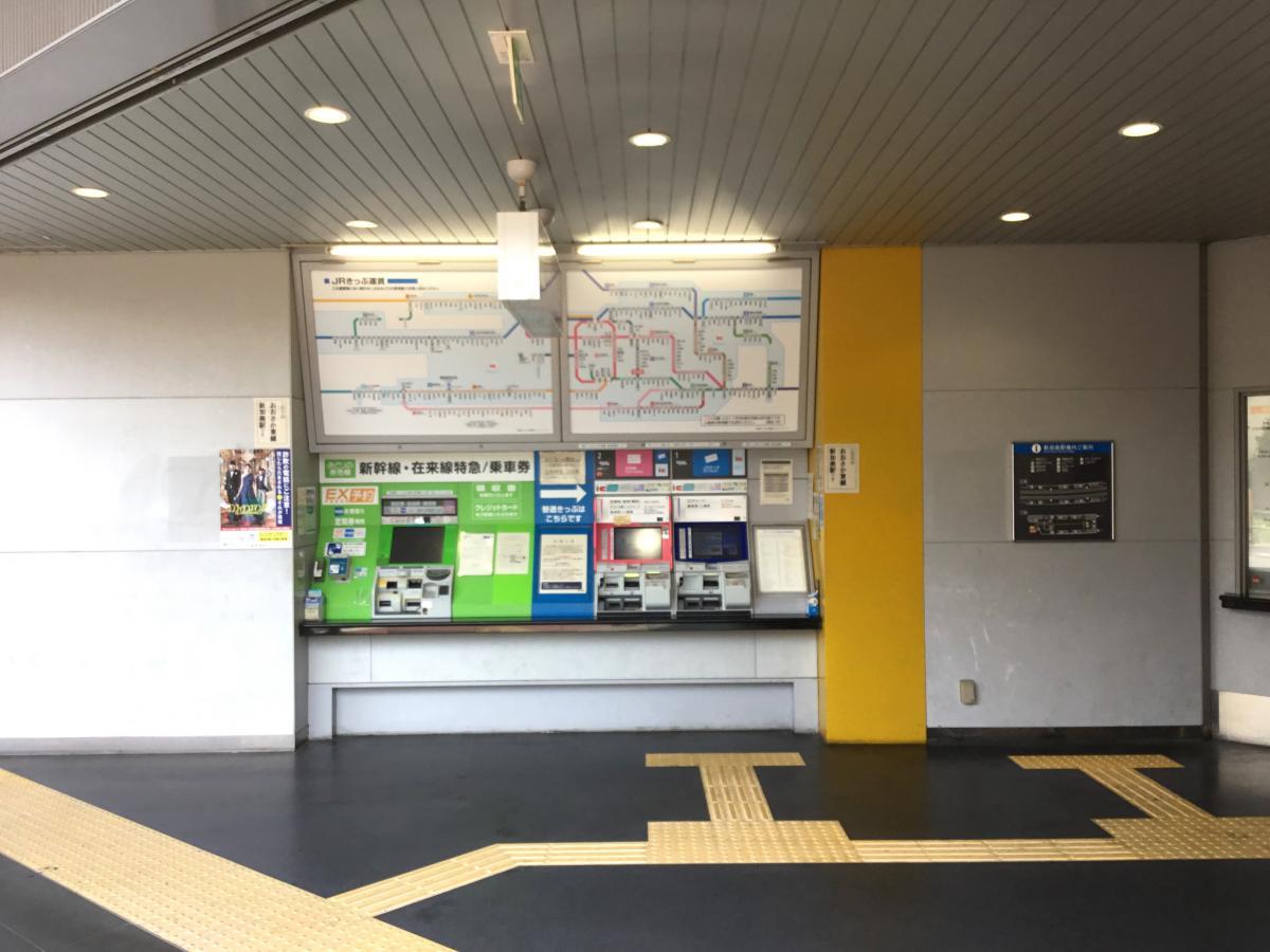 JR新加美駅の写真です