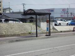 「公立病院前」バス停留所