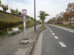 「梅美台小学校」バス停留所