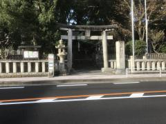 「五所神社」バス停留所