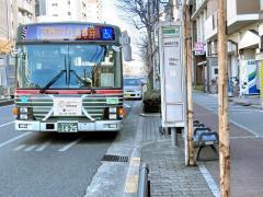 「阪南町五丁目」バス停留所