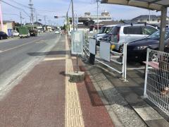 「競馬場前」バス停留所