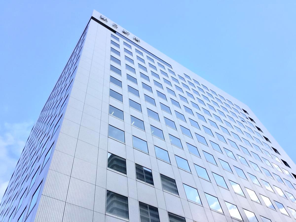 株式会社朝日新聞名古屋本社で撮影しました