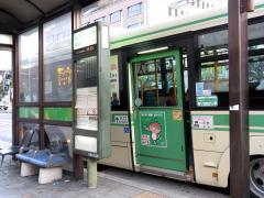 「生野区役所」バス停留所