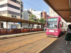 諏訪神社駅